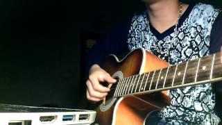 Thế giới ảo tình yêu thật - guitar cover by Dương Dikey
