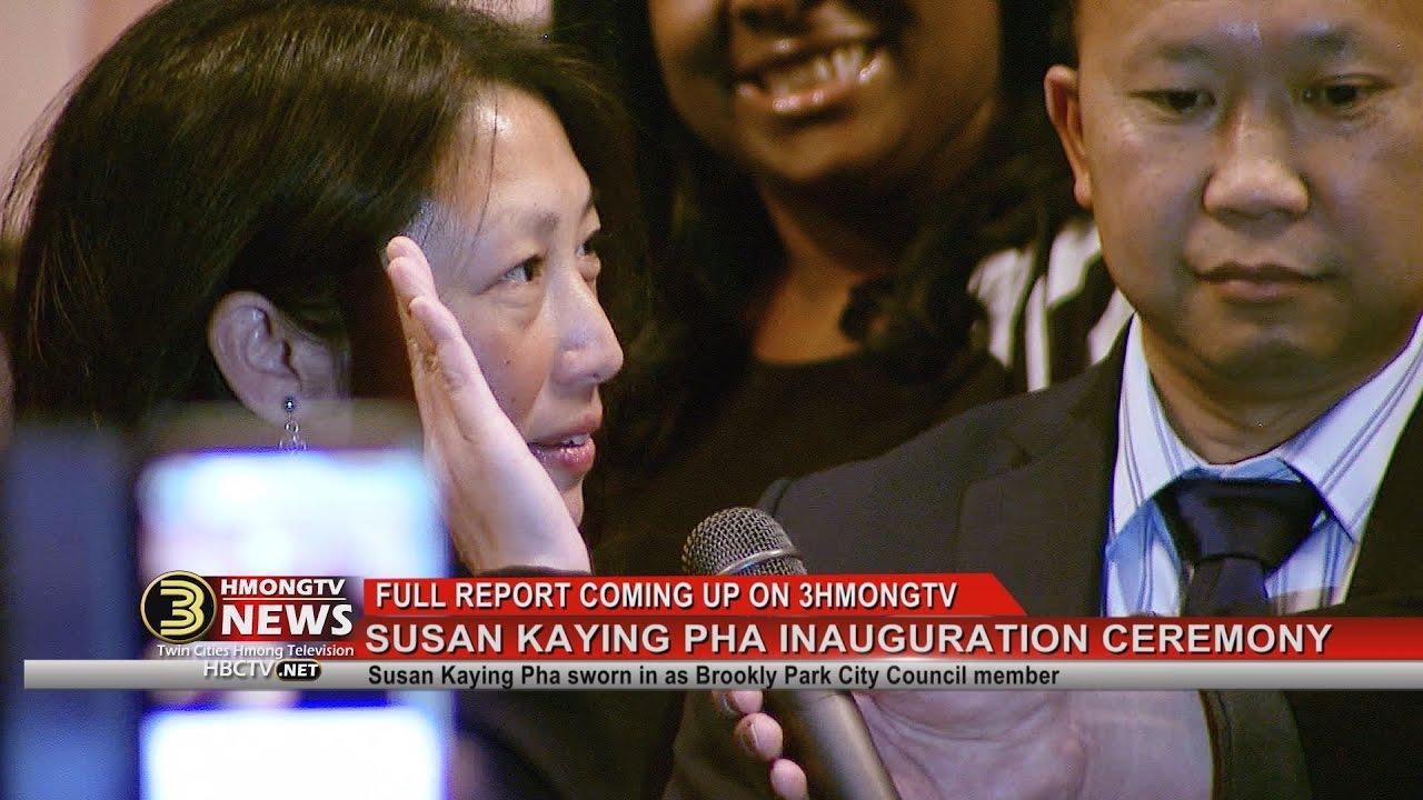 3 HMONG NEWS: Coming up...Susan Kaying Pha sworn in as Brooklyn Park City Council member.