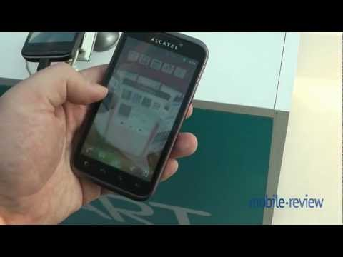 Alcatel OneTouch 995 Demo