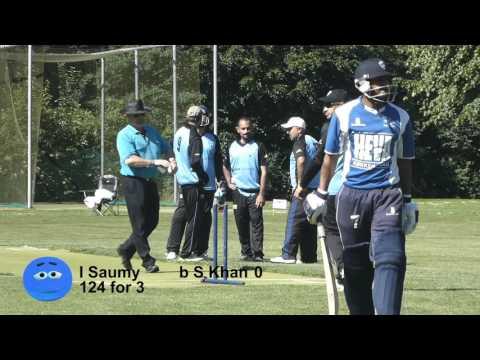 DK Cricket: Herning v Nørrebro Elitedivision JUly 1 2017