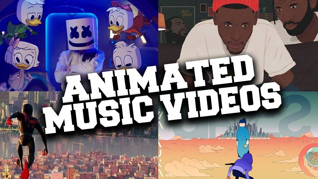 Top 20 Animated Music Videos Of 2018 Youtube