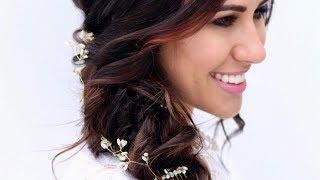 Topsy Tail Braid Bridal Updo