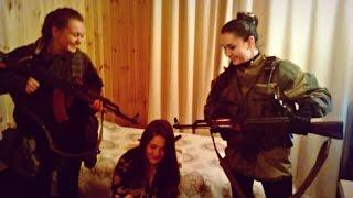 На Донбассе бойцы СБУ задержали 19-летнюю снайпершу