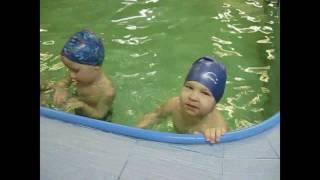 Бассейн! Урок плавания в детском саду