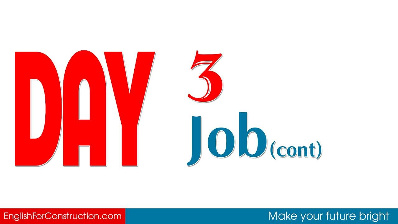[5 Từ Vựng Tiếng Anh Xây Dựng] Ngày 3 - Job (Các Vai Trò Trong Xây Dựng 3)