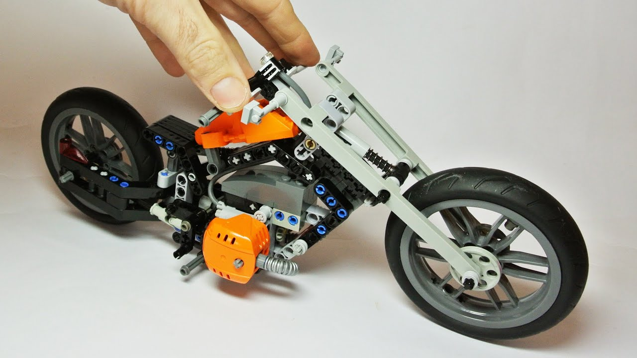 how to build with lego technic