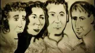 Матуа Аверин Сорокин и Кравец песочный портрет