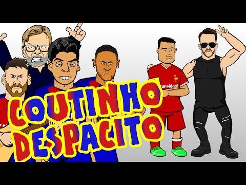 🎤COUTINHO DESPACITO🎤 MSN try to sign Phil Coutinho for BARCA! Parody transfer
