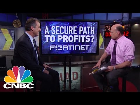 Fortinet CFO: Cyber Cash | Mad Money | CNBC