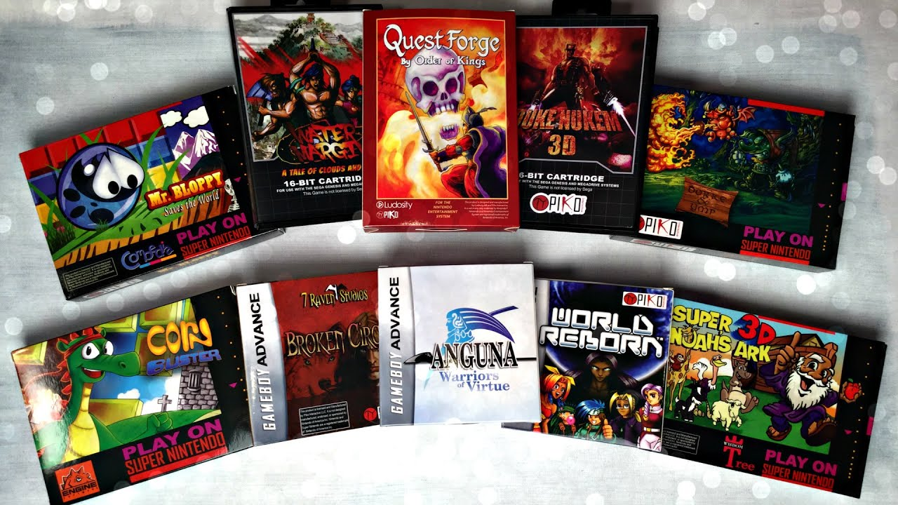 NEW GAMES for OLD Consoles   SNES   NES   Genesis   GBA   YouTube
