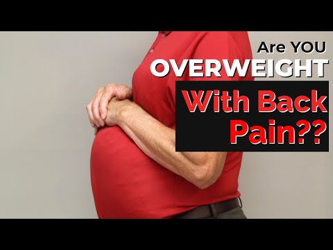 Overweight with Back Pain? Top 3 Things to Try