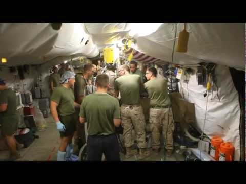 Mass casualty drill turns into reality for sailors, Marines.mp4