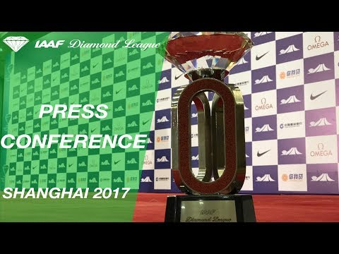 Shanghai Press Conference, 2017 - IAAF Diamond League