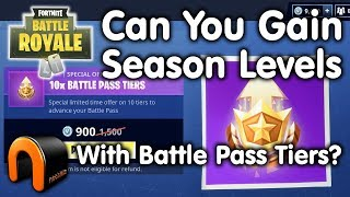FORTNITE Can You Level Up Your Season Levels With Battle Pass Tiers?