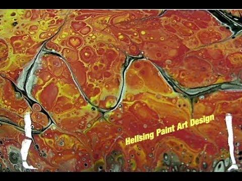 (Fluid117) Fluid Painting experiment!