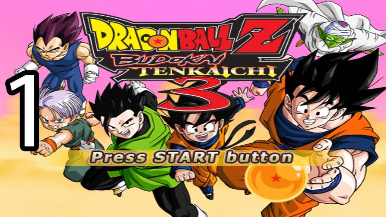 Let's Play Dragon Ball Z Budokai Tenkaichi 3: Part 1
