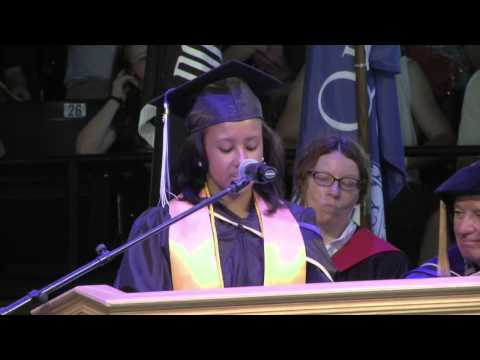 Quincy College Commencement 2015 Student Speakers