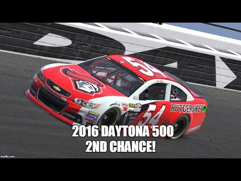 2016 Daytona 500 Second Chance Complete Race – Iracing Nascar Series 1.5/36