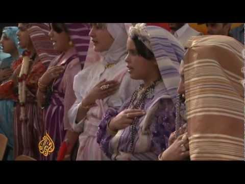Libya's Amazigh celebrate spring festival