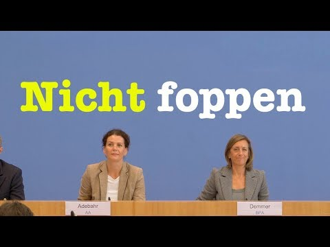 18. September 2019 - Bundespressekonferenz | RegPK