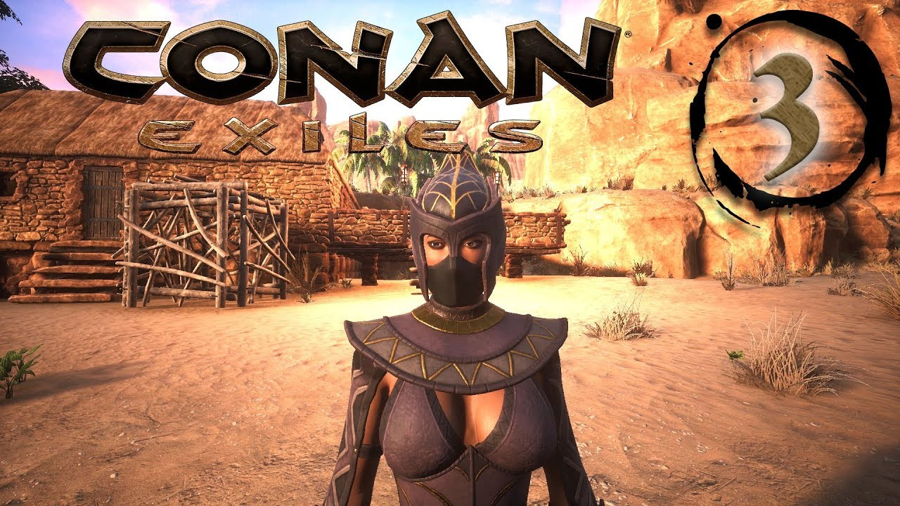 Armour, Weapons & Yog Priest - CONAN EXILES #3