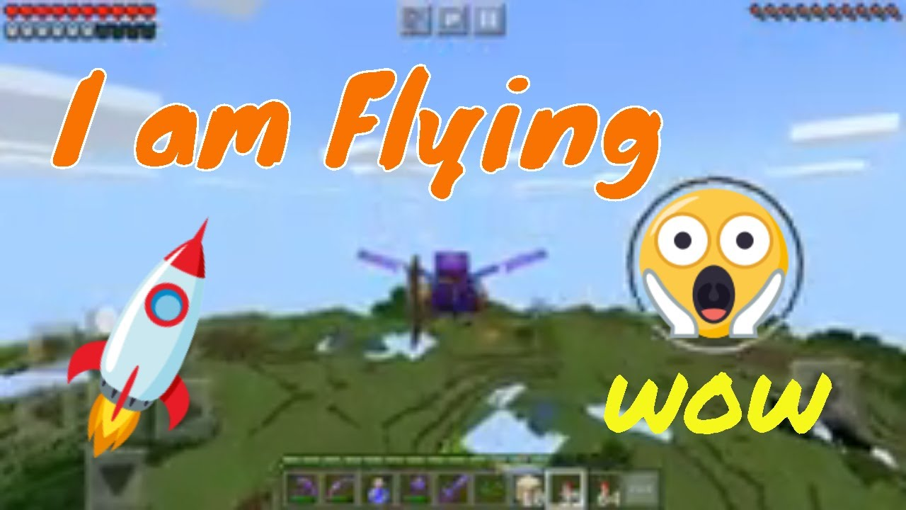 BEST Way to Fly in Minecraft | How To Use Elytra ! ▫  Survival Guide #13