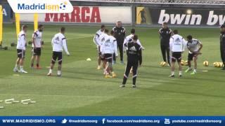 Real Madrid Training Clips ahead of Eibar in Liga