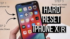 Apple iPhone XR - Restart / Soft Reset | Easy method