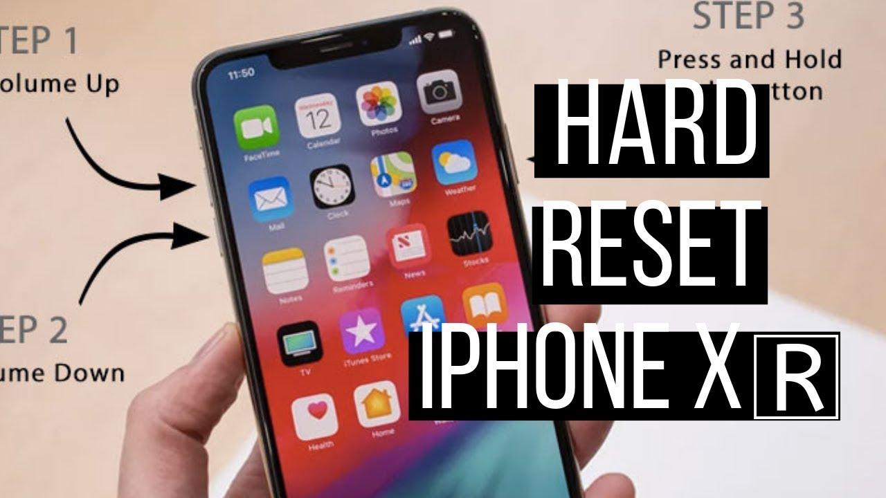 Iphone Xr Reset