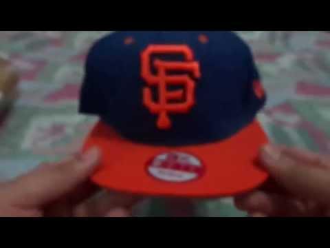 Unboxing Aliexpress   Boné New Era NY Yankees San Francisco Giants ... 0e93534dd2b