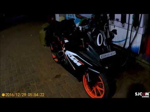 Chennai to Hyderabad | KTM RC 200 | Road Trip