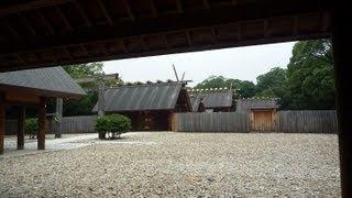 熱田神宮 三種の神器(鏡、剣、勾玉(まがたま))のうちの、「草薙の剣」愛知県名古屋市  夏旅 アクア