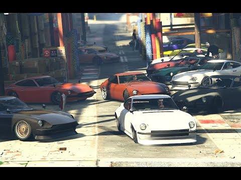 190z ONLY Car Meet IN GTA 5 Online