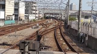 相鉄12000系・二俣川駅通過シーン