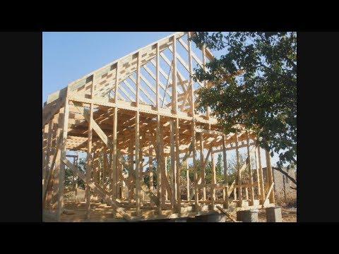 Каркасный дачный дом своими руками пошаговая инструкция с фото