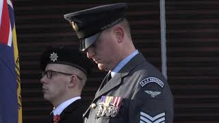 Huge turn-out for RAF couple