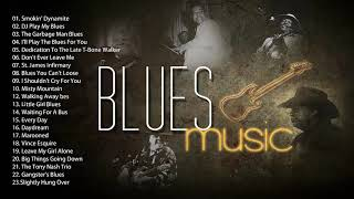 Canciones De Blues Lento || Música Blues en Inglés || Lo Mejor del Blues de Todos los Tiempos