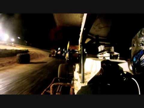 In car feature Race, Champion Park Speedway, Minden La, 7-23-11