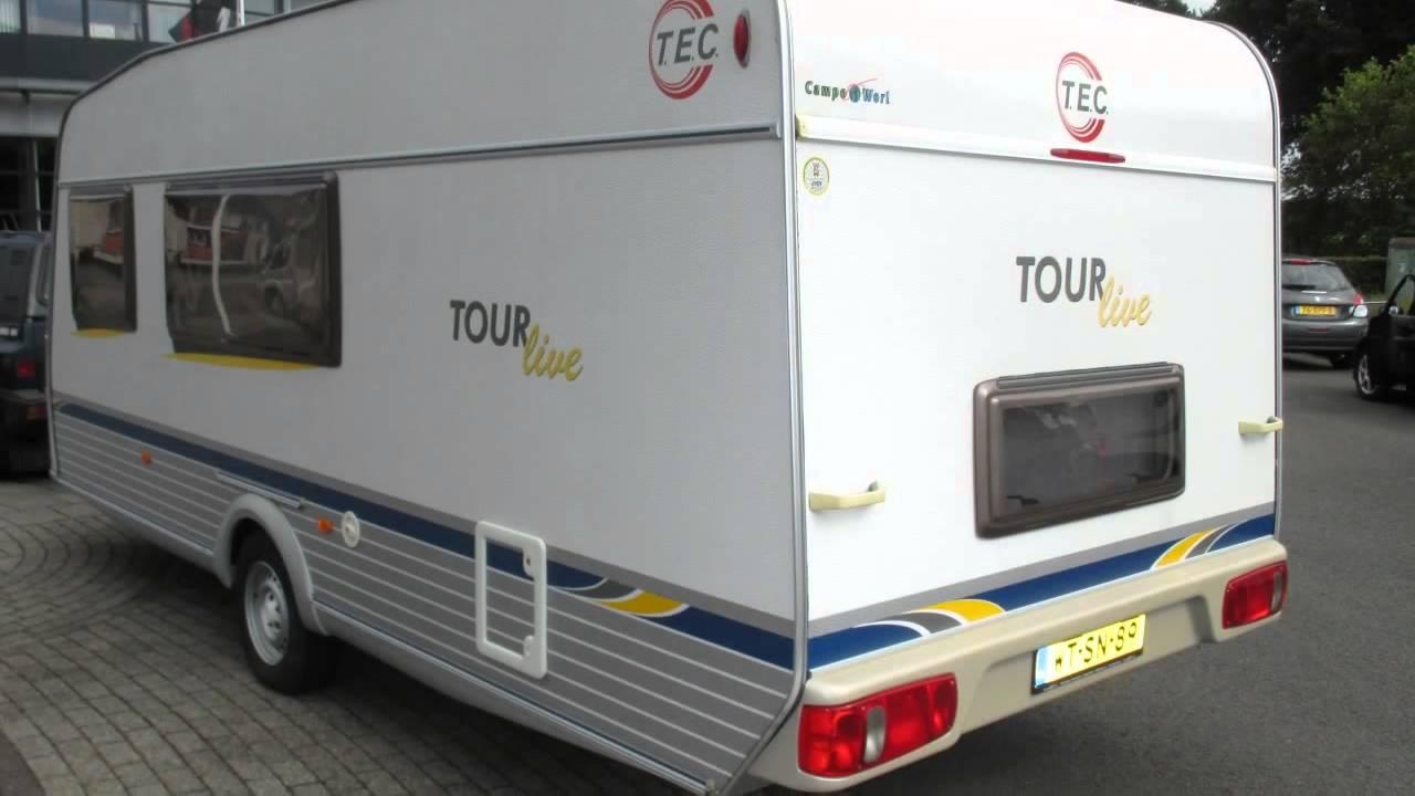 caravan te koop tec tour live 520 gk verkocht youtube. Black Bedroom Furniture Sets. Home Design Ideas