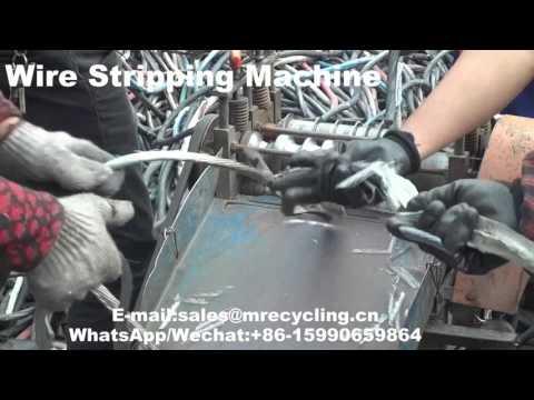 wire stripping machine calgary video mp4