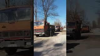 В Ульянівці жителі затримали три вантажівки з піском