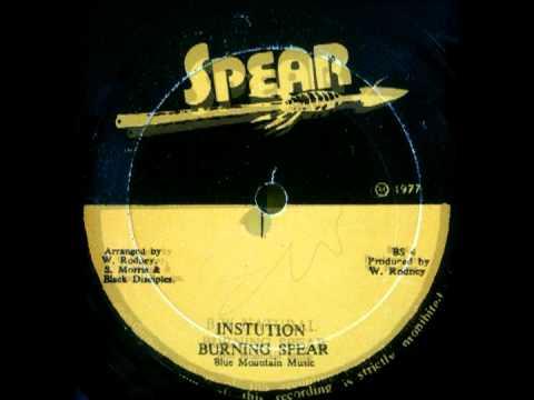 BURNING SPEAR - Institution + natural (1977 Spear)