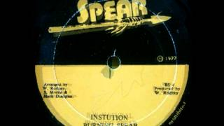 BURNING SPEAR - Institution + natural (1977 Spear)