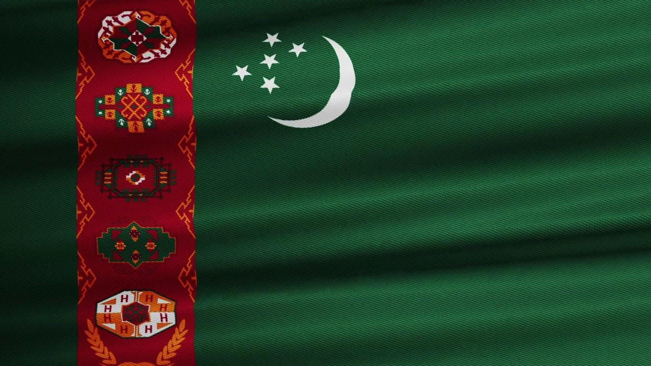 Туркмения флаг картинки