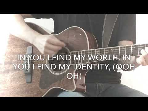 Lauren Daigle - You Say - Acoustic Guitar Karaoke (Instrumental)