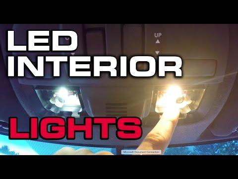 How To Install LED Interior Lights - 2016 Subaru STi