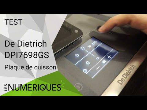 Plaque De Cuisson A Induction De Dietrich Dpi7698gs Un Joli
