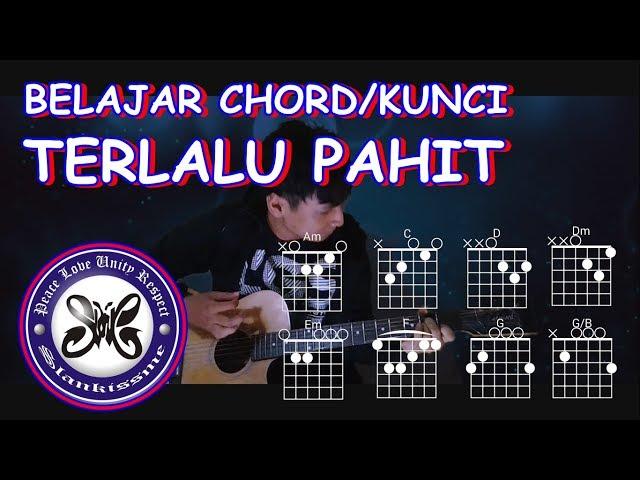 Slank Terlalu Pahit - Kord & Lirik Lagu Indonesia
