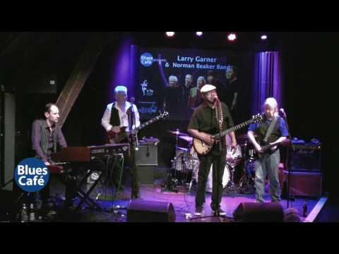 Larry Garner & Norman Beaker Band  live at Blues Cafe 26 4 2017 set 2