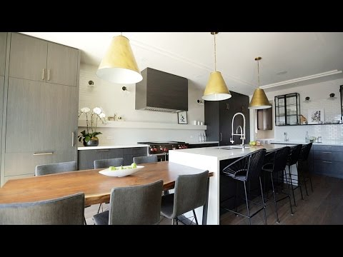 Interior Design — How To Open Up Your Kitchen & Family Room